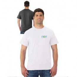 Promotional White Jerzees Dri-Power Active T-Shirt