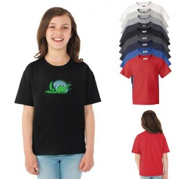 Fruit of the Loom HD Cotton Youth Tee Imprinted