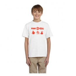 Fruit of the Loom HD Cotton Youth T-Shirt 5 oz. - White
