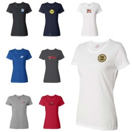 FOTL Heavy Cotton Ladies T-Shirt Logo