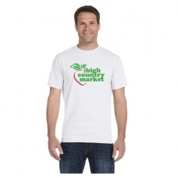 Promotional White Hanes Beefy T-Shirt