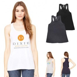 Bella Canvas Women's Flowy Racerback Tank Promotion