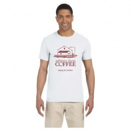 Custom White Gildan Softstyle Semi-Fitted T-Shirt