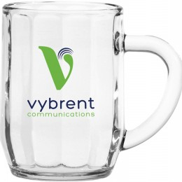 Prism Glass Mug with Logo
