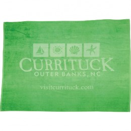 Best Custom Promotional Oversized Beach Towels - Prolucent Printed - Green