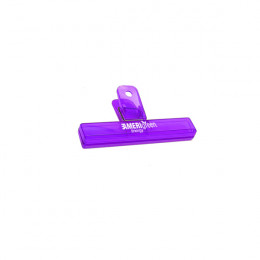 Translucent Purple Large Tiger Teeth Bag Clip Custom Logo