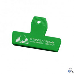 Best Promotional Mini Bag Clips for Businesses & Schools - Green