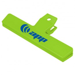 Large Custom Bag Clip-lime green
