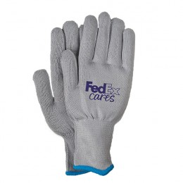 Wicking Knit Running Gloves with Logo