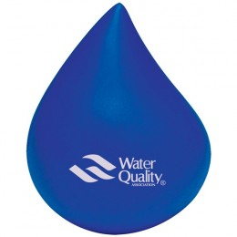 Blue Water Drop Stress Ball