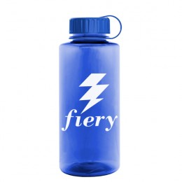 Large Poly-Pure Sports Bottle Promotion - Blue