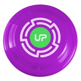 Eco-Friendly Promotional Flying Disc Toy with Company Logo - Fuchsia