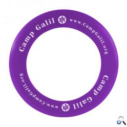 Zing Personalized USA Made Flying Ring for Businesses - Purple