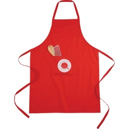 Promotional Imprinted Cotton Full Length Apron - White