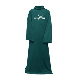Custom Body Blanket -  Promotional Business Gifts - Forest Green