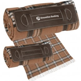 Roll-Up Tartan Custom Blank -Brown