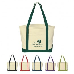 Promotional Cotton Canvas Boat Tote