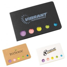Logo Imprinted Accent Sticky Flag Booklet