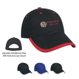 Price Buster Cap with Trim Embroidered Promotional