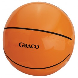 Custom Promotional Basketball Shaped Beach Balls - 14 Inches