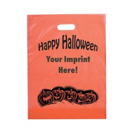 Pumpkins Recyclable Halloween Bag - FREE SET-UP - 12 x 15