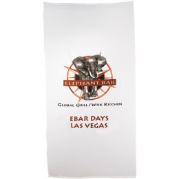 Personalized Promotional Heavy Weight Beach Towels - 20 lb/doz