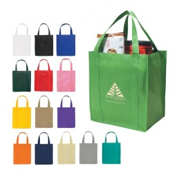 Promotional Eco Friendly Tote Bags for Businesses - Large Grocery Tote