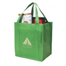Large Thunder Grocery Tote Bag - Kelly Green