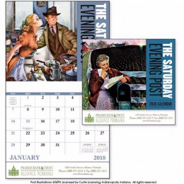 The Saturday Evening Post Wall Calendar