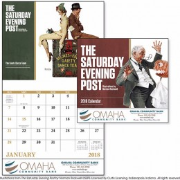 The Saturday Evening Post II Economy Appointment Calendar