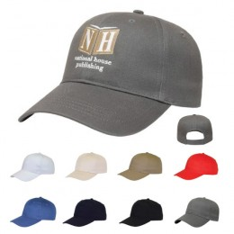 Structured Custom Embroidered Hat with Low Profile Fit - Customized Logo Hats
