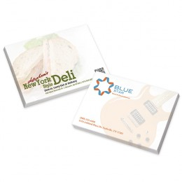Promotional Custom Adhesive Notes with Full Color Imprint for Business