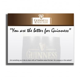 Promotional Personalized Memo Pads with Imprint for Your Business - Ultra-White