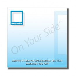 "4"" x 4"" Sticky Notepads - 50 Sheets"