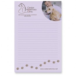 Customizable Notepads with Company Logo in Full Color Imprint for Promotion