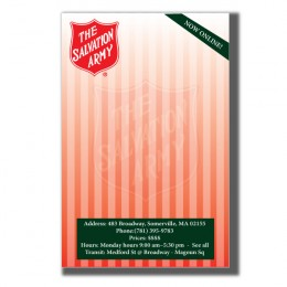 "4"" x 6"" Sticky Notepads - 50 Sheets - 4 Color FREE"