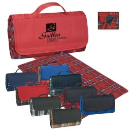 Roll-Up promotional picnic blanket - Best custom waterproof blankets