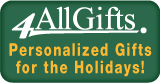 Personalized Holiday Gifts with 4AllGifts