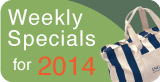 Weekly Specials on Promotional Products