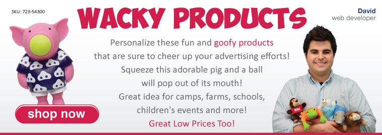 Wacky Products by 4AllPromos